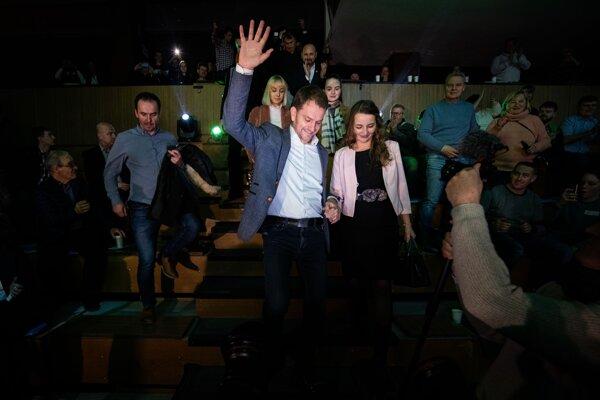 Víťazom volieb je hnutie OĽaNO Igora Matoviča.