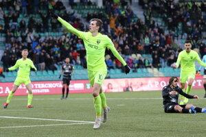 Filip Balaj sa v zápase proti Dunajskej Strede prezentoval dvomi gólmi.