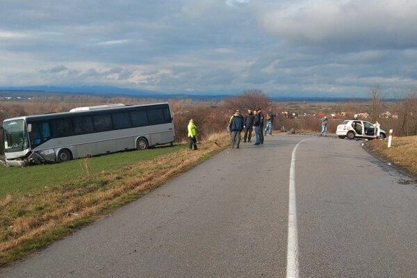Nehoda pri Lefantovciach.