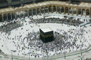 Pútnici v Mekke.