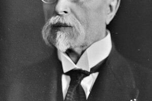 Tomáš Garrigue Masaryk.