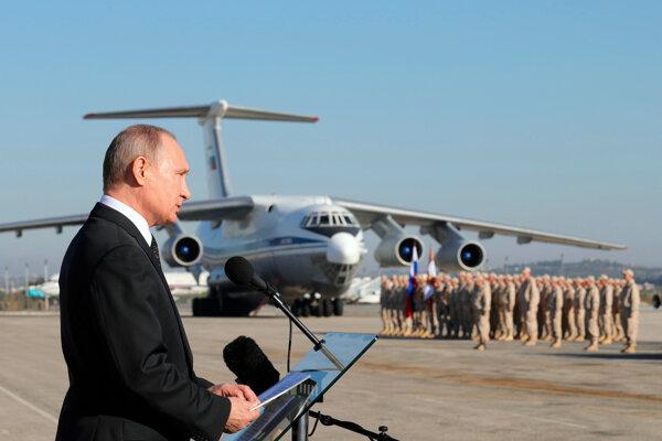 Putin je ochotný vyjednávať.