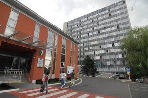Nemocnica v Šaci.