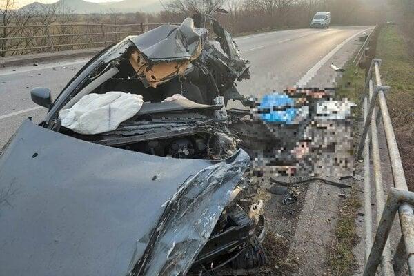 Nehoda Sološnica - Rohožník.