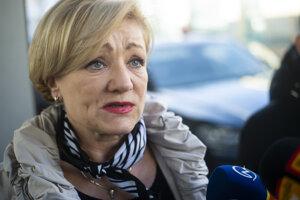 Ministerka kultúry SR Ľubica Laššáková (Smer).