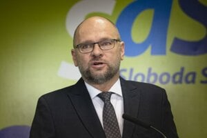 Predseda strany Sloboda a Solidarita (SaS) Richard Sulík.