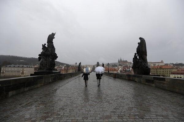 Karlov most v Prahe 11. marca.