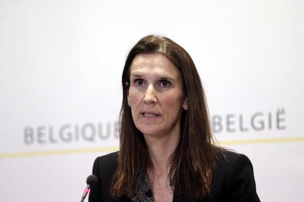 Belgická premiérka Sophie Wilmesová.