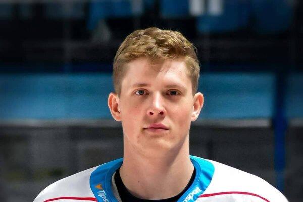 Hokejista Nitry - Jakub Minárik.
