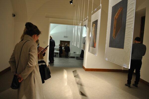 Výstava Pekné veci v Nitrianskej galérii.