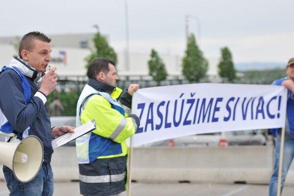 Predseda závodnej organizácie OZ KOVO PCAS Milan Minarech.