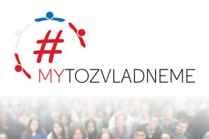 Logo novej kampane #MYtozvladneme, ktorú spustili týždenníky MY