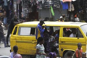 Obchodovanie v Lagose.