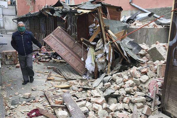 Chorvátsko zasiahlo zemetrasenie.