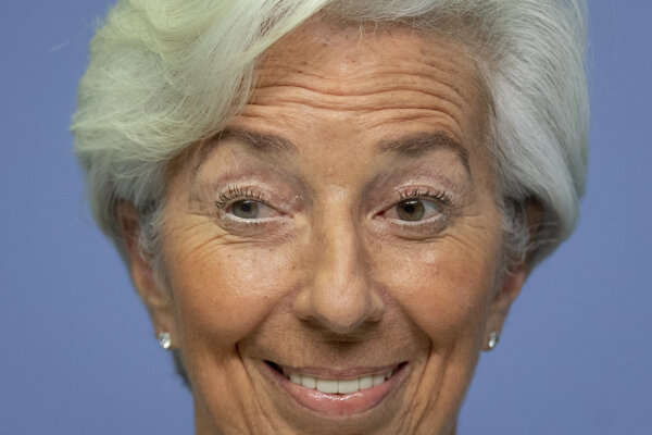 Šéfka Európskej centrálnej banky (ECB) Christine Lagardová.