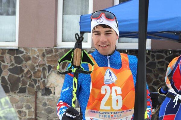 Ján Koristek je v súčasnosti najlepším slovenským bežcom na lyžiach.