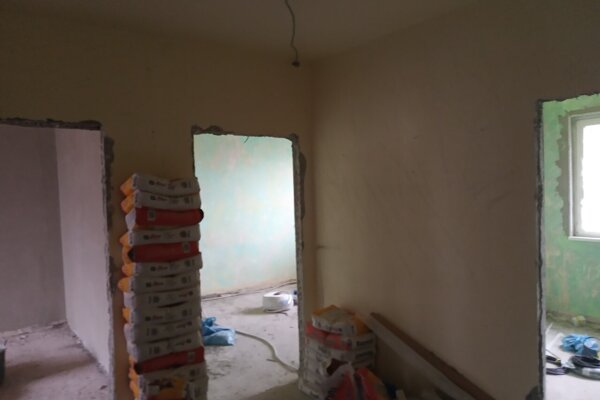 Rekonštrukcia bytu na Šafárikovej triede v Košiciach.