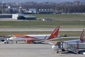 Britské aerolínie easyJet.
