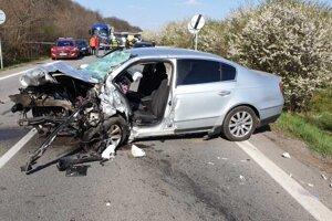 Tragická nehoda v katastri obce Cabaj-Čápor.