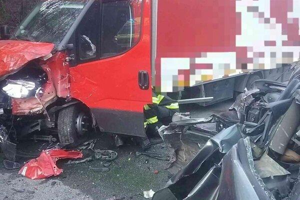 Nehoda si vyžiadala ľudský život.