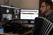 Vyučovanie online počas pandémie koronavírusu na Slovensku.