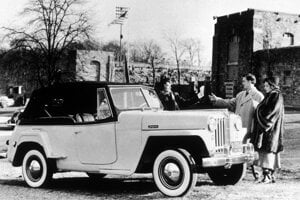 Willys-Overland Jeepster.