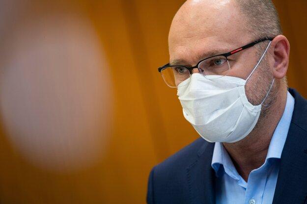 Minister hodpodárstva Richard Sulík po rokovaní vlády.