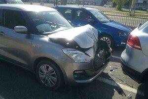 Nehoda pri Auparku.