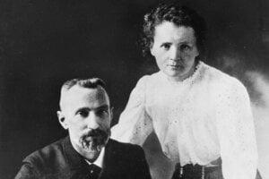 Marie s manželom Pierrom