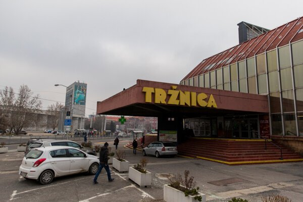 Tržnica na Trnavskom mýte.