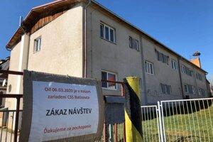 Domov v Batizovciach.