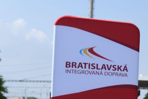 Banner Bratislavskej integrovanej dopravy.