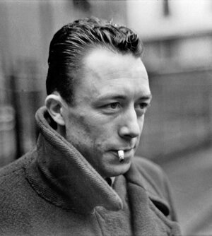 Nositeľ Nobelovej ceny za literatúru, predstaviteľ existencionalizmu Albert Camus (7. 11. 1913 – 4. 1. 1960).