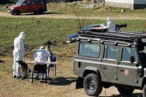 V utorok v Bystranoch testovali prvých nakazených a ich rodinných príslušníkov.