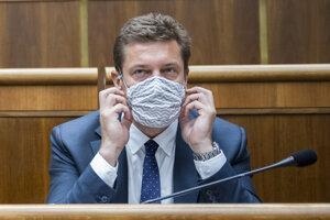 Minister dopravy a výstavby SR Andrej Doležal.