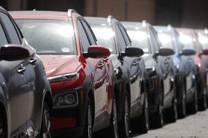 Automobily Hyundai.