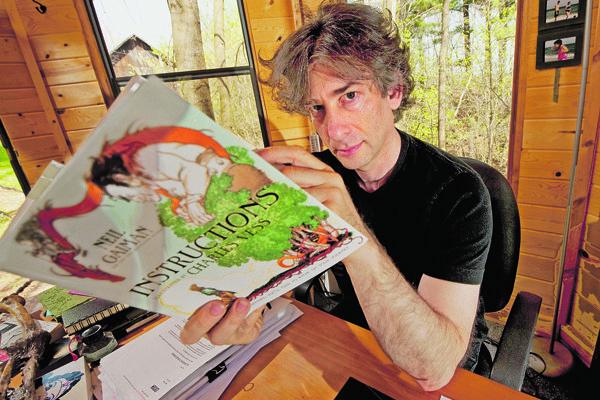 Britský spisovateľ Neil Gaiman