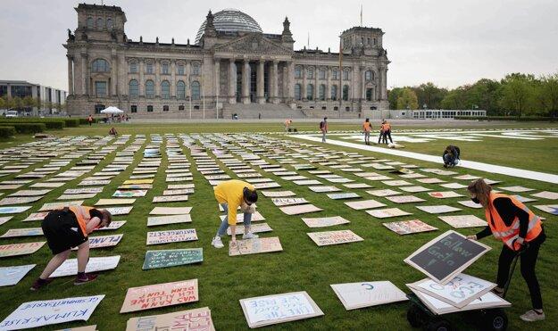 Pre pandémiu koronavírusu bude klimatický štrajk digitálne distribuovaný na internet.