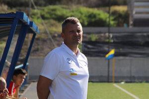 Stanislav Macek, tréner reprezentácie do 18 rokov.