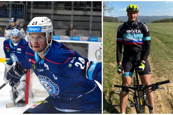 Mezeiova práca a záľuba - hokej a cyklistika.