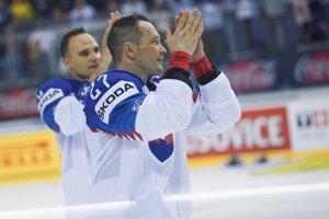 Ladislav Nagy sa na MS 2019 v Košiciach rozlúčil s hokejovou kariérou.