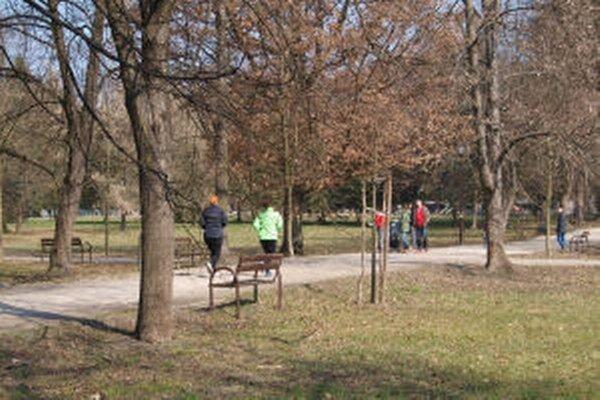 Park už dnes Žiarčania navštevujú v hojnom počte.