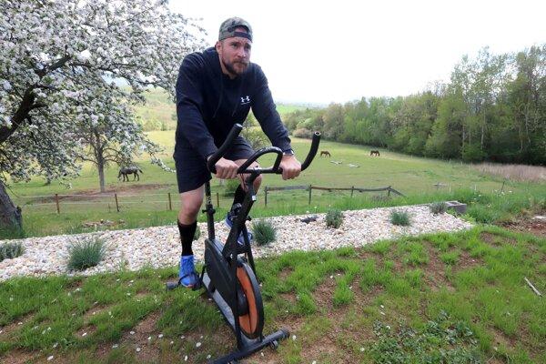 Marek Čiliak sa pripravuje na vlastnom ranči.