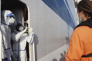 """Charitatívna organizácia Sea-Eye, ktorá loď prevádzkuje, označila v stredu rozhodnutie za """"absurdné""""."""