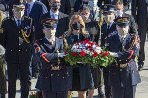 Prezidentka Zuzana Čaputová si pripomenula 75. výročie ukončenia II. svetovej vojny a Deň víťazstva nad fašizmom.