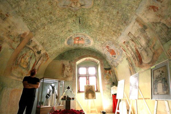 Zelená sieň Thurzovho domu patrí k skutočným historickým klenotom.