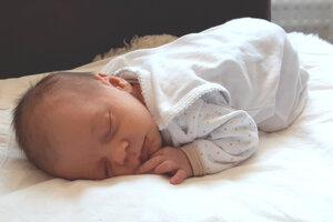 Rebecca Medňanská (3000 g a 48 cm) sa narodila 3. apríla rodičom Silvii a Borisovi Medňanským z Levíc.