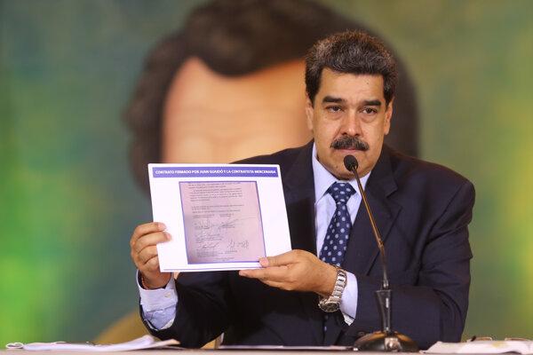 Venezuelský prezident Nicolas Maduro.