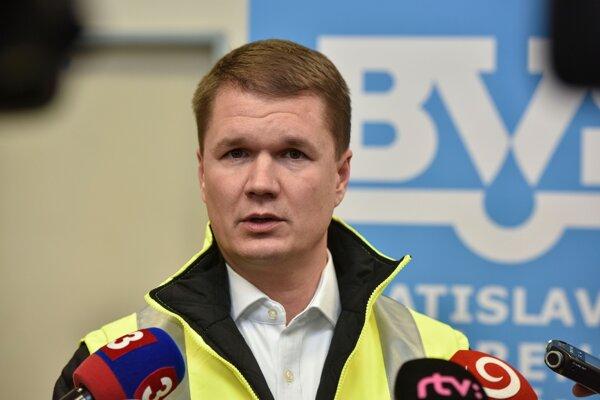 Generálny riaditeľ Bratislavskej vodárenskej spoločnosti Peter Olajoš.