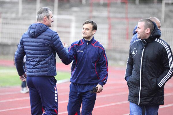Stanislav Varga (vľavo) a Saša Savič.